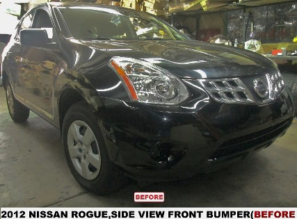 2013 Nissan Rogue Before