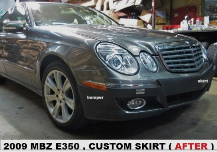 2009 Mercedes Benz E350 After