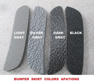 COLORS OPTIONS ON BUMPER SKIRT