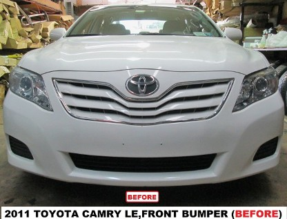 2011 Toyota Camry LE Before