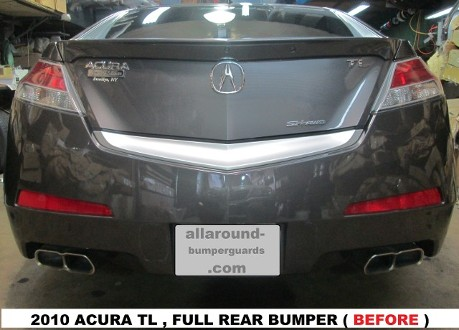2010 Acura TL Before