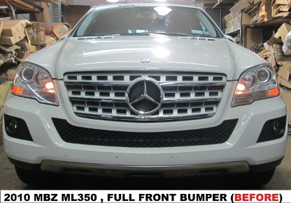 2010 Mercedes Benz ML350 Before