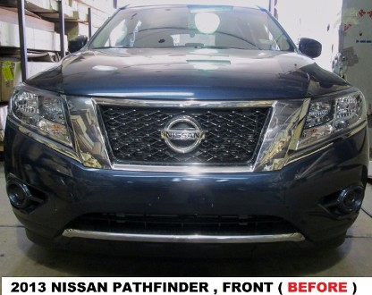 2013 Nissan Pathfinder Before