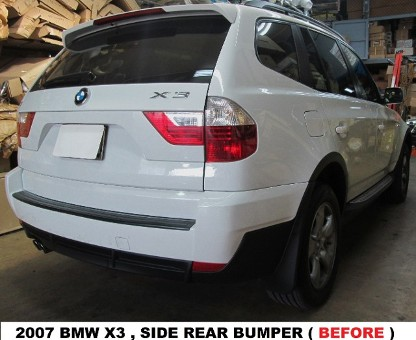 2007 BMW X3 Before