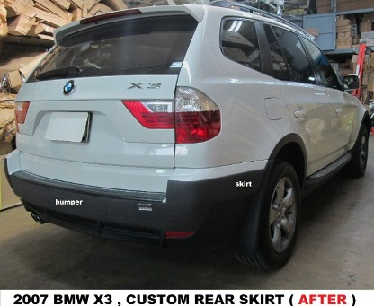 2007 BMW X3 After