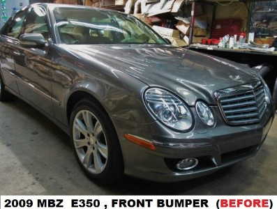 2009 Mercedes Benz E350 Before